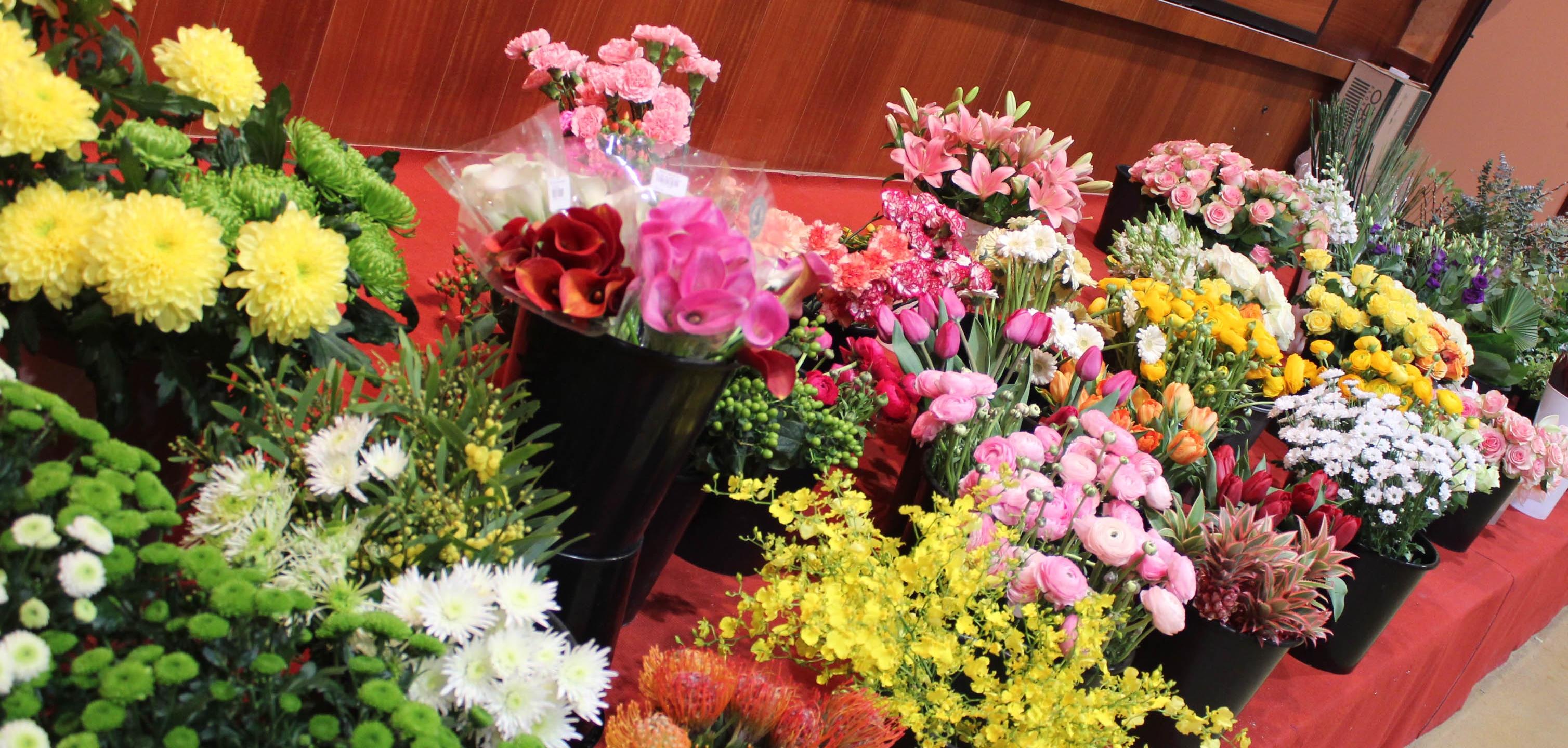 Les fleurs au DAFA