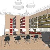 La bibliothèque de la SNHF en travaux