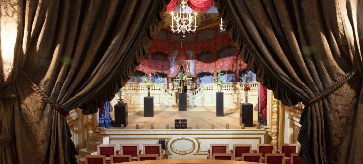 Théâtre de Groussay dans les Yvelines, crédit photo : Litchi Agency Fabien Bernardi