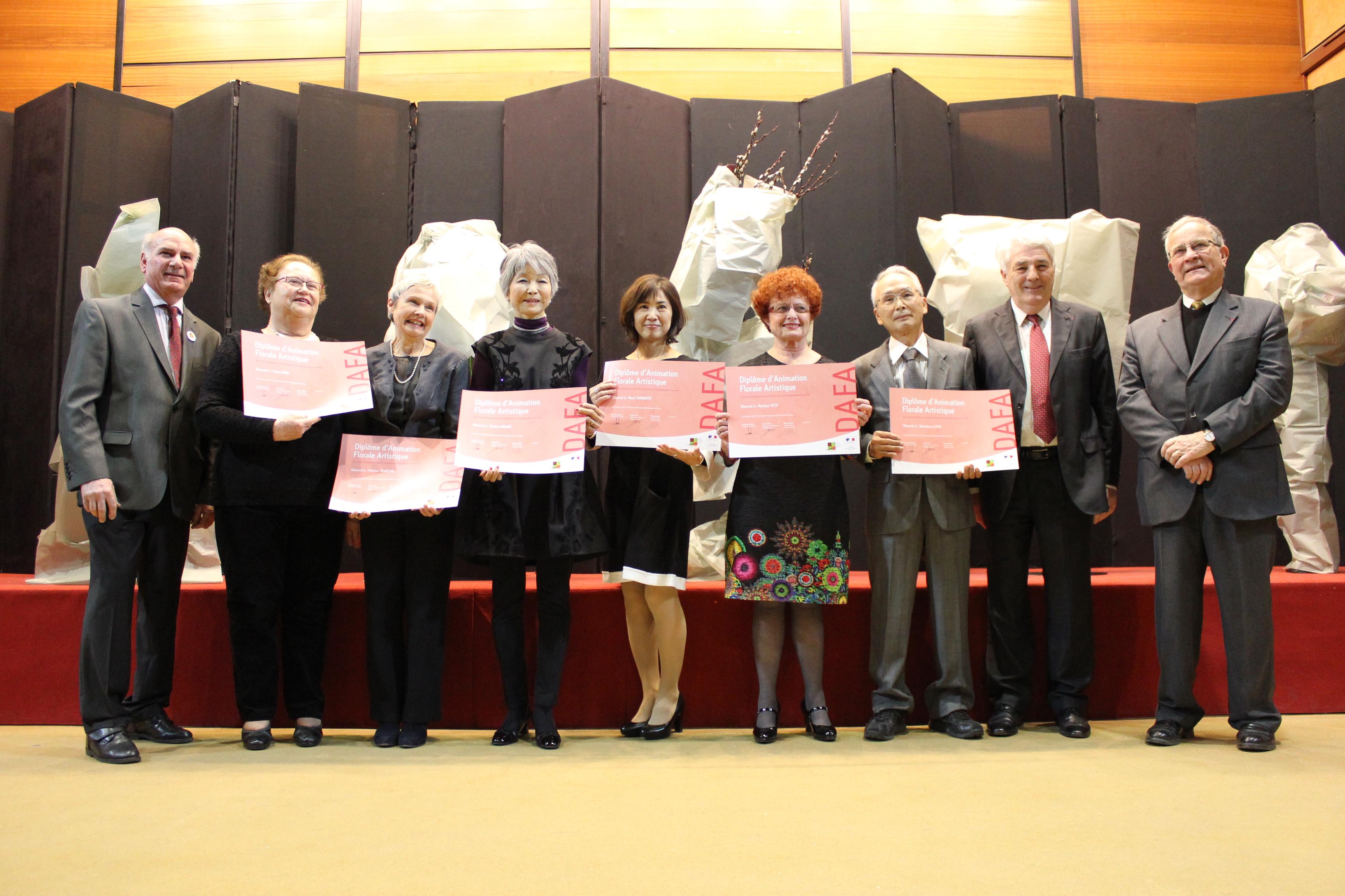 Démonstration des lauréats du DAFA3