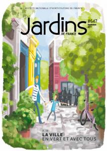 Jardins de France, la revue trimestrielle de la SNHF
