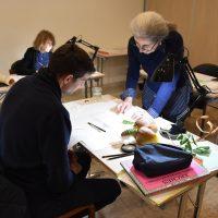 Illustration botanique, retour en image sur l'atelier de janvier