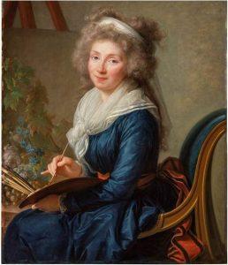 Portrait de la marquise de Grollier par Élisabeth Vigée Lebrun