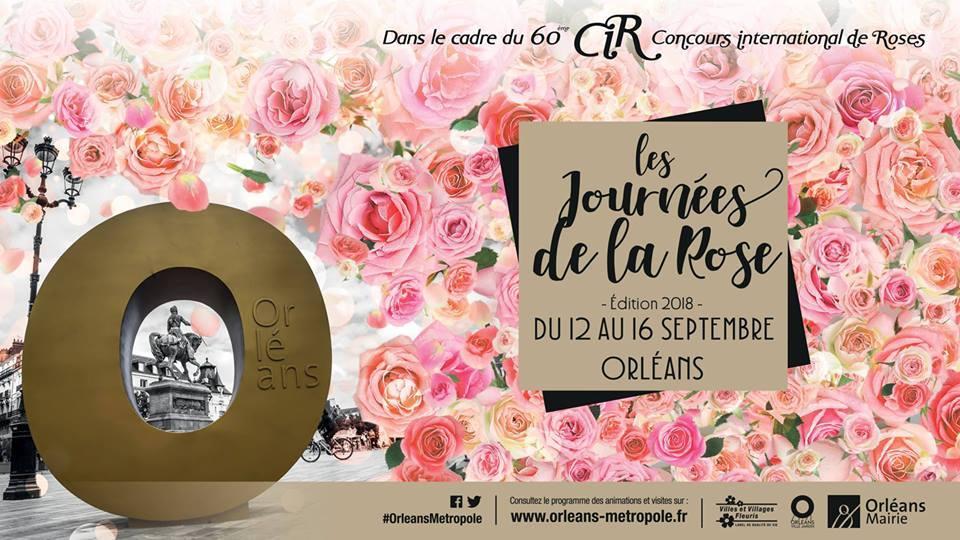 60ème CONCOURS INTERNATIONAL DE ROSES D'ORLÉANS