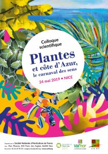 Affiche Plantes et côte d'Azur