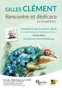 Affiche Gilles Clément