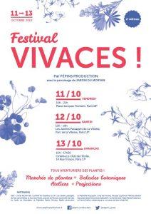 Affiche du Festival Vivaces