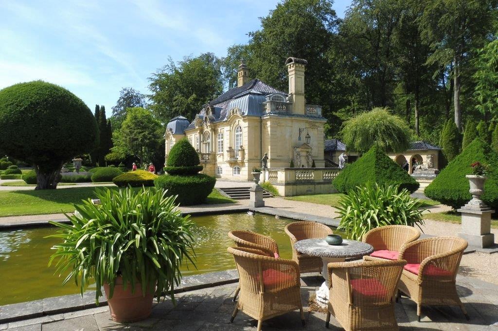Jardin baroque Exillion de Peter Wibroe.